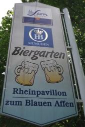 Blauer Affe Biergarten Bonn Beul