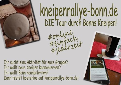 Bonn Kneipenrallye Stadtrallye Kneipentour Junggesellenabschied Brauhaustour